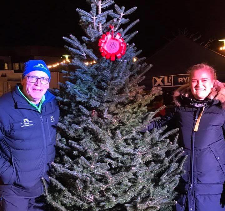 Norges flottaste juletre kjem frå Ryfylke