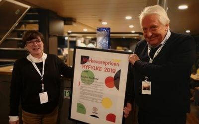 Merkevareprisen Ryfylke 2019 er tildelt Ryfylke Fjordhotel
